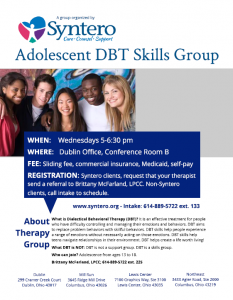 Adolescent DBT Skills Group