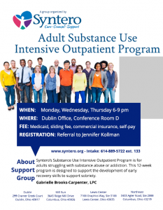 Adult Substance Use Intensive Outpatient Program
