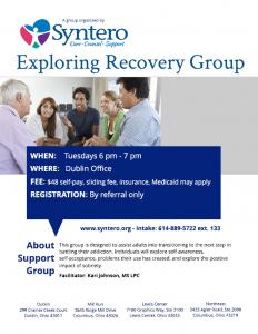 Exploring Recovery Group