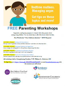 Parenting flyer - April 2020