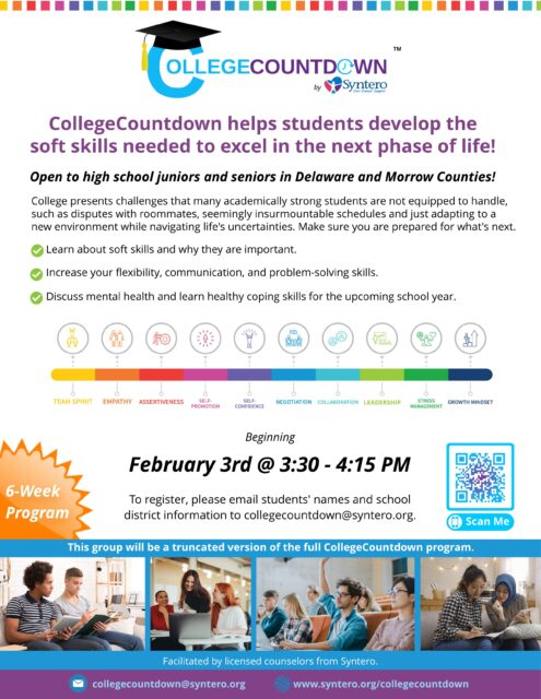 CollegeCountdown February Flyer